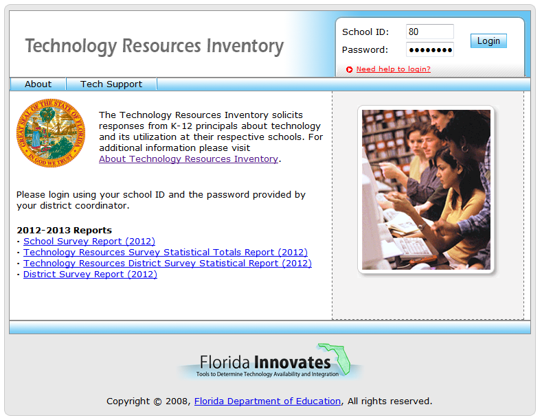 School Technology Resources Inventory